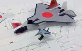 水ロケット・紙飛行機コンテスト演習の様子